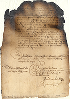 Image. Letter from the directors in Amsterdam to Petrus Stuyvesant