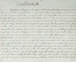 New York State Constitution of 1821, Article II