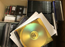 CD ROMs and cases
