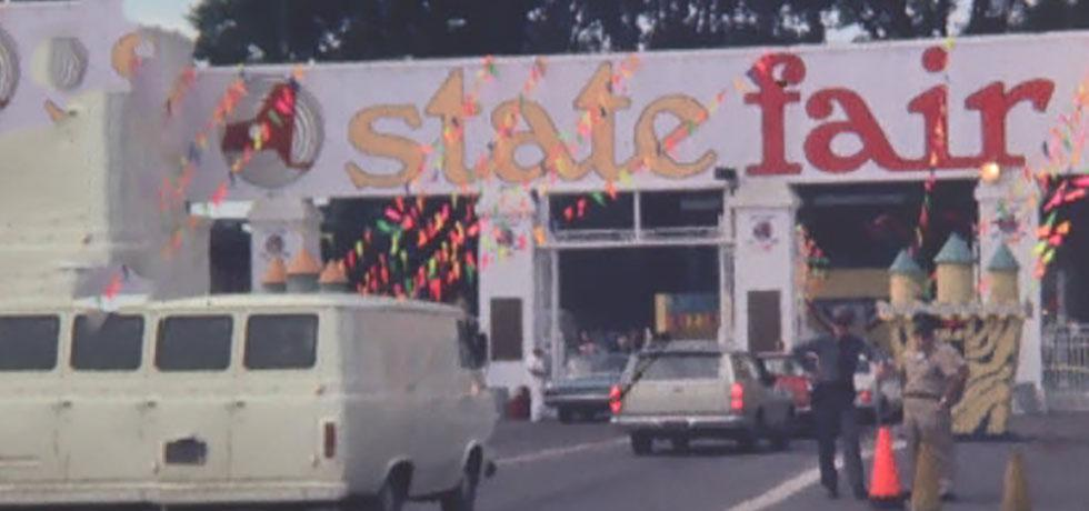 Screenshot from the video, New York State Fair, 1967