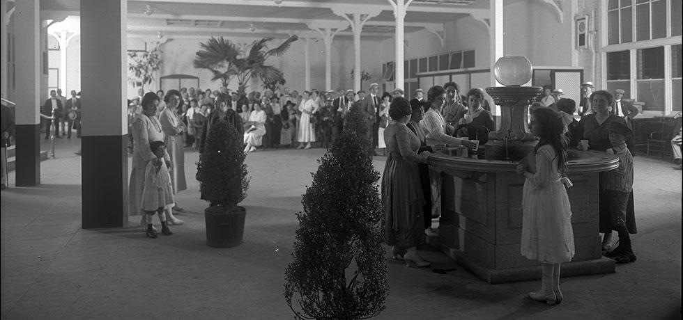 Image. State Drink Hall, Saratoga Springs, August 1918