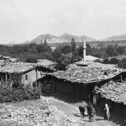 Asia Minor - A Mountain Village with Shingled Roofs