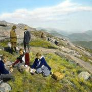 Lunch on Mt. Marcy