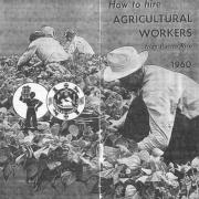 "Brochure, ""How to Hire Agricultural Workers from Puerto Rico, 1960."""