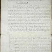 Second Constitution of the State of New York, Article II