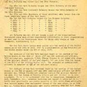 The Reorganization of the New York State Troops in the Federal Service