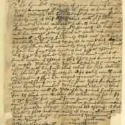 Petition by the Heirs of Samuel Palmer of Westchester that his widow be granted a letter of administration, 1670