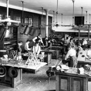 New York City. Public School No. 1, Manual Training Class (Toy making)