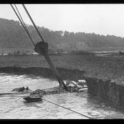Dredging the New York State Barge Canal, Washington County, N.Y., 1907