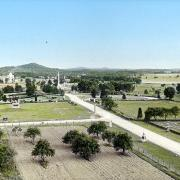 Civil War. View South From Ziegler's Grove Tower in Gettysburg